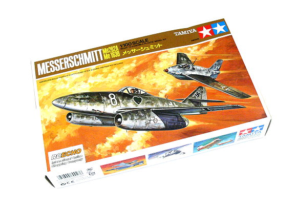 Tamiya Aircraft Model 1/100 Airplane Messerschmitt Me262A & Me163B Hobby 60023