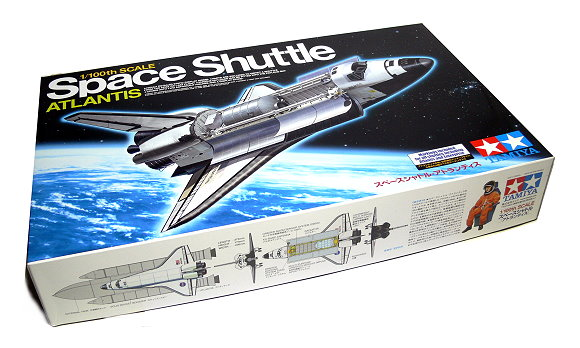 Tamiya Space Model 1/100 Space Shuttle ATLANTIS Scale Hobby 60402