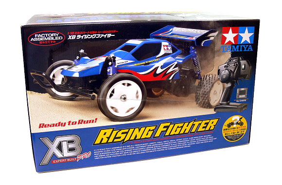 Tamiya EP RC Car 1/10 XB Expert Built Pro RISING FIGTER OFF Road (RTR) 57781