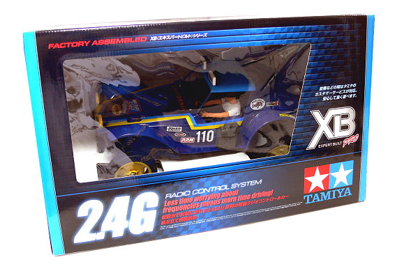 Tamiya EP RC Car 1/10 XB Expert Built Pro HOLIDAY BUGGY DT02 2WD (RTR) 57864