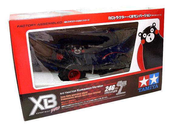 Tamiya EP RC Car 1/10 XB Expert Built Pro TRACTOR Kumamon Ver WR02G (RTR) 57881