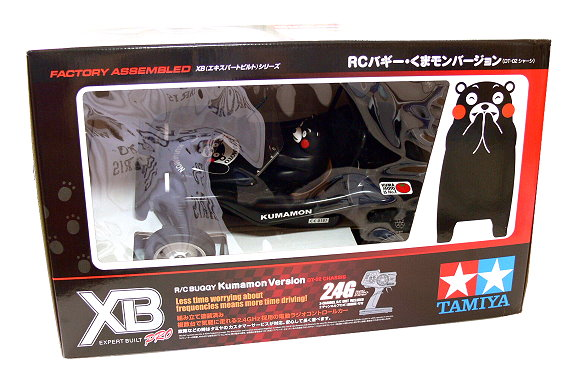 Tamiya EP RC Car 1/10 XB Expert Built Pro Black Buggy Kumamon DT02 (RTR) 57885