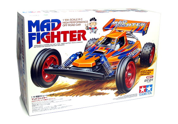 Tamiya EP RC Car 1/10 MAD FIGHTER High Performance OFF Road Car with ESC 58275