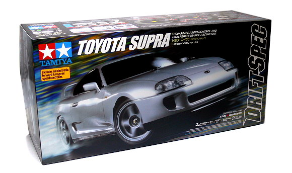 Tamiya EP RC Car 1/10 TOYOTA SUPRA TT01D Chassis ON Road Car With