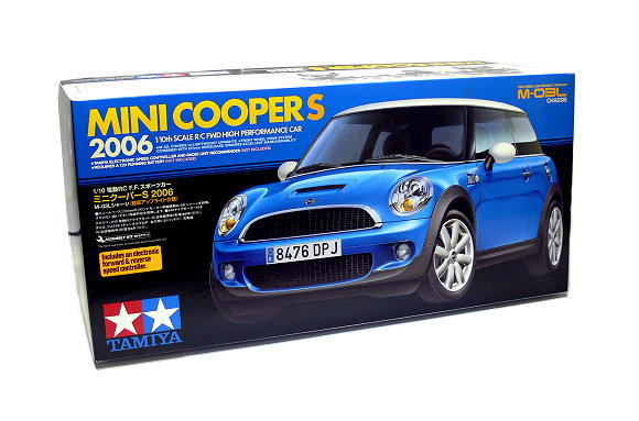 Tamiya EP RC Car 1/10 Mini Coopers 2006 Racing Car M03L with ESC 58400