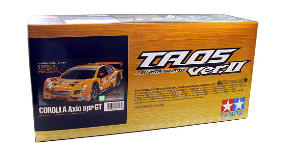 Tamiya EP RC Car 1/10 CORLLA Axio apr GT TA05 Ver II 2 Belt Driven 4WD 58448