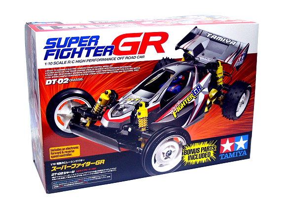 Tamiya EP RC Car 1/10 SUPER FIGHTR GR OFF Road Car with ESC 58485