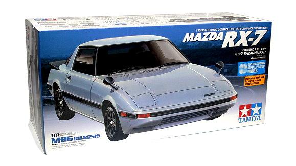 Tamiya EP RC Car 1/10 MAZDA RX 7 M06 Sports Car With ESC