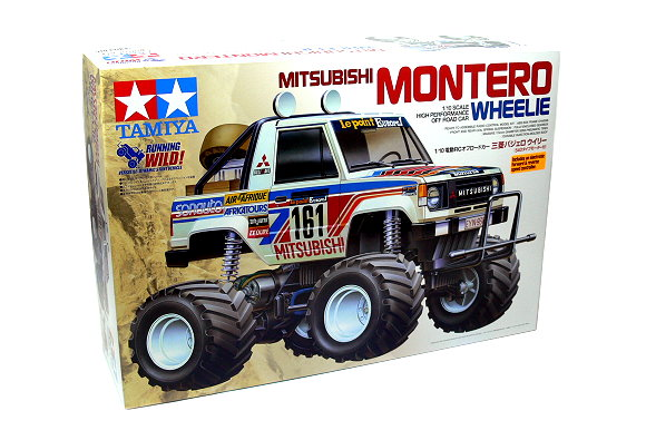 Tamiya EP RC Car 1/10 MITSUBISHI MONTERO Wheelie with ESC 58499