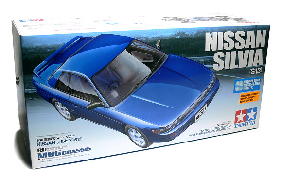 Tamiya EP RC Car 1/10 NISSAN SILVIA (S13) M06 Chassis with ESC 58532
