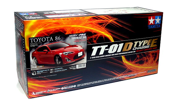 Tamiya EP RC Car 1/10 TOYOTA 86 DRIFT SPEC TT01D Type E Chassis Racing Car 58551