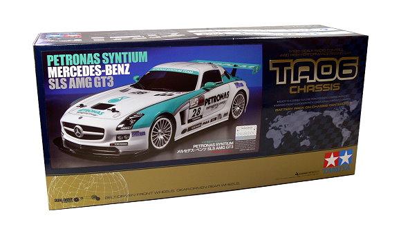 Tamiya EP RC Car 1/10 PETRONAS SYNTIUM MERCEDES-BENZ SLS AMG GT3 TA06 4WD 58561