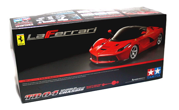 Tamiya EP RC Car 1/10 LaFerrari TB04 Shaft Driven 4WD Syatem Racing Car 58580
