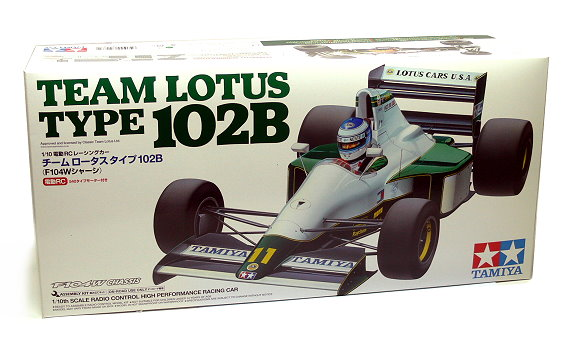 Tamiya EP RC Car 1/10 TEAM LOTUS Type 102B F104W Chassis Racing Car 84287