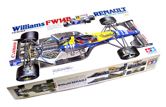 Tamiya Automotive Model 1/12 Car Williams FW14B Renault Big Scale Series 12029