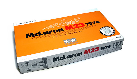 Tamiya Automotive Model 1/12 Car McLaren M23 1974 with PHOTO-ETCHED PARTS 12045