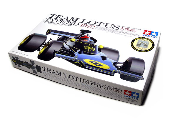 Tamiya Automotive Model 1/12 Car TEAM LOTUS 72D 1972 & PHOTO-ETCHED PARTS 12046