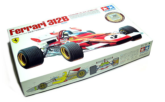 Tamiya Automotive Model 1/12 Car Ferrari 312B with PHOTO-ETCHED PARTS 12048