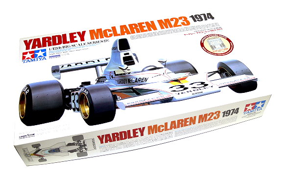 Tamiya Automotive Model 1/12 YARDLEY McLAREN M23 1974 & PHOTO-ETCHED PARTS 12049