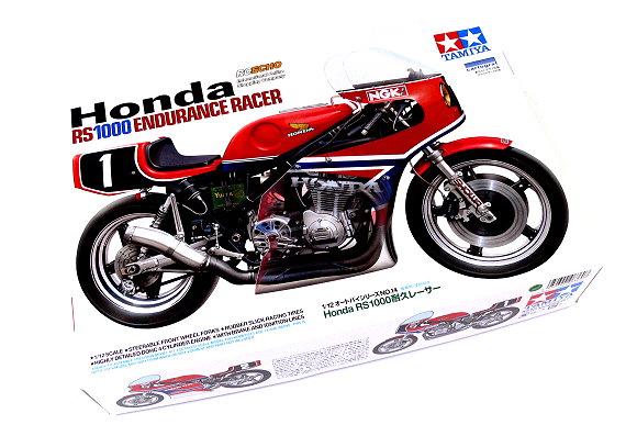 Tamiya Motorcycle Model 1/12 Motorbike Honda RS1000 Endurance Racer Hobby 14014