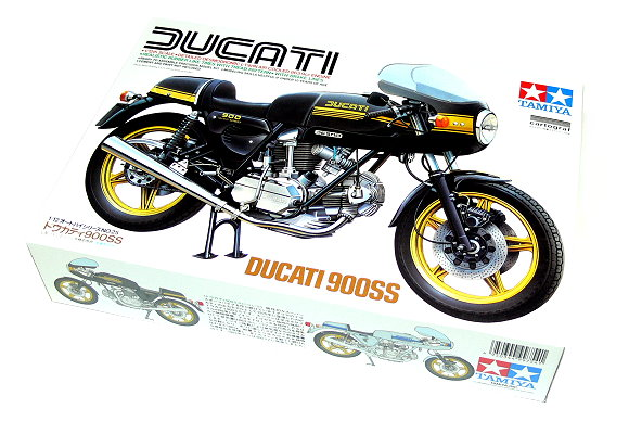 Tamiya Motorcycle Model 1/12 Motorbike DUCATI 900SS No. 25 Scale Hobby 14025