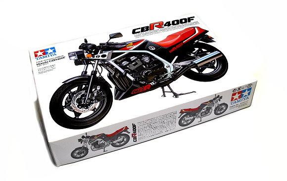 Tamiya Motorcycle Model 1/12 Motorbike Honda CBR400F Scale Hobby 14035