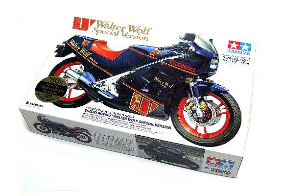 Tamiya Motorcycle Model 1/12 Motorbike Suzuki RG250 No. 53 Walter Wolf 14053