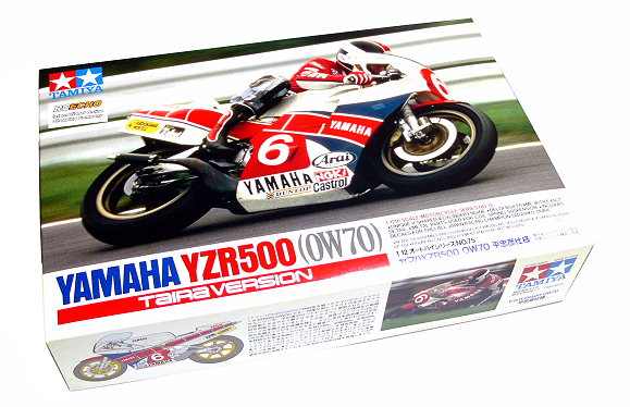 Tamiya Motorcycle Model 1/12 Motorbike YAMAHA YZR500 (OW70) Scale Hobby 14075