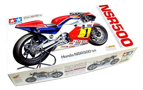 Tamiya Motorcycle Model 1/12 Motorbike Honda NSR500 84 Scale Hobby 14121