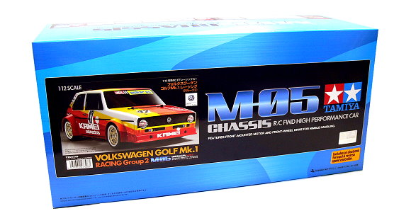 Tamiya EP RC Car 1/12 VOLKWAGEN GOLF Mk.1 Racing Group 2 M05 FWD & ESC 47308