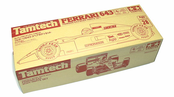 Tamiya RC Car Body 1/14 Tamtech FERRARI 643 Body Body Parts Set 40021