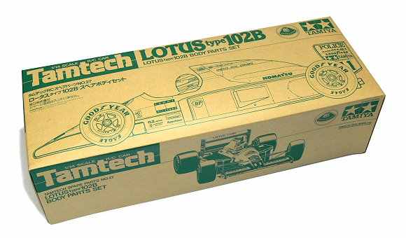 Tamiya RC Car Body 1/14 Tamtech LOTUS type 102B Body Parts Sets 40027