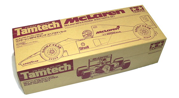 Tamiya RC Car Body 1/14 Tamtech McLaren MP4/6 Honda Body Parts Set 40029