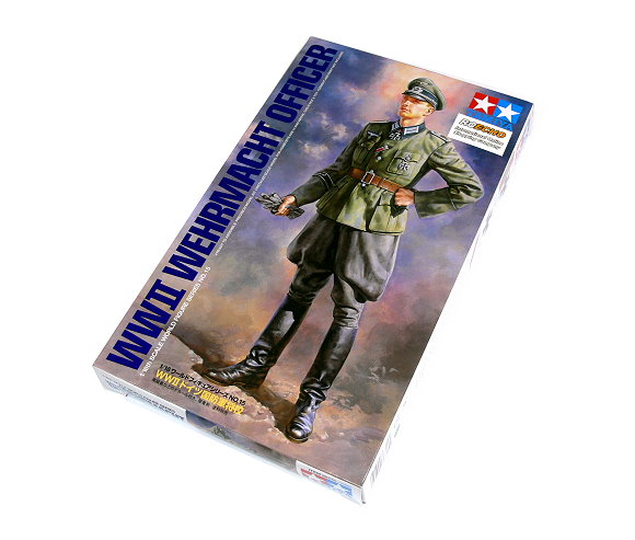 Tamiya Military Model 1/16 WW2 Wehrmacht Officer Figure Scale Hobby 36315