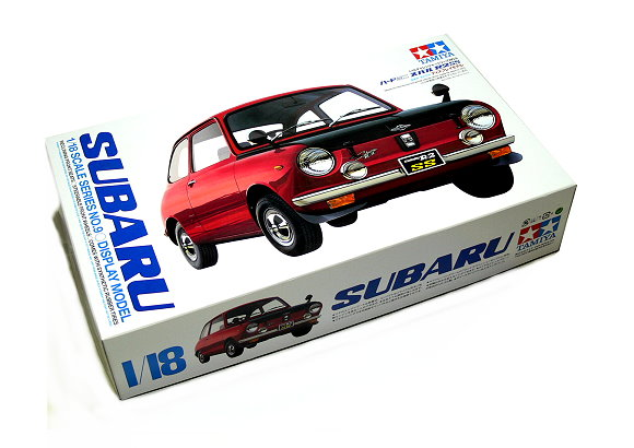 Tamiya Automotive Model 1/18 Car SUBARU R-2SS Scale Hobby 10009