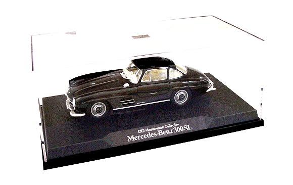 Tamiya Automotive Model 1/24 Car Black Mercedes-Benz 300SL Finished Model 21154
