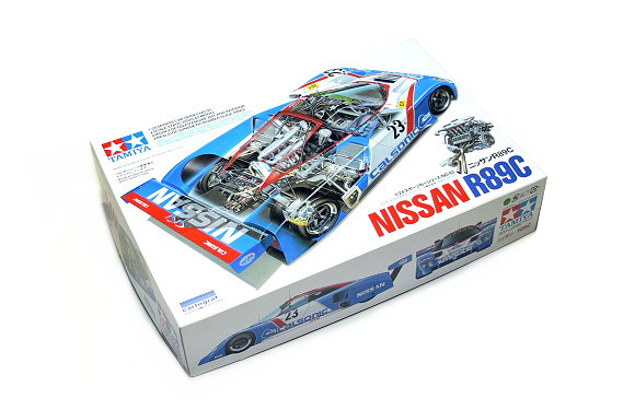 Tamiya Automotive Model 1/24 Car NISSAN R89C Scale Hobby 24093