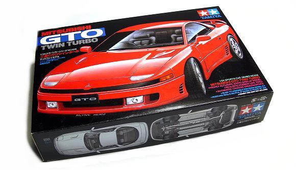 Tamiya Automotive Model 1/24 Car MITSUBISHI GTO TWIN TURBO Scale Hobby 24108