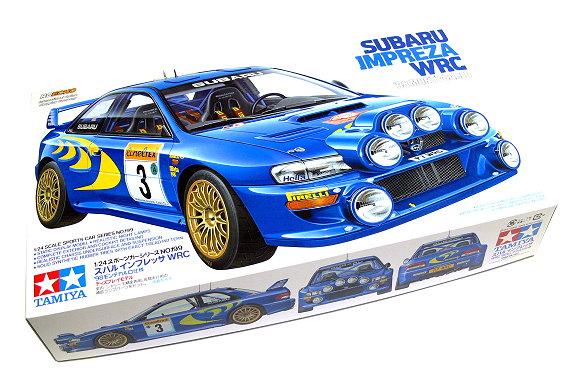Tamiya Automotive Model 1/24 Car SUBARU Impreza WRC 98 Monte-Carlo Hobby 24199