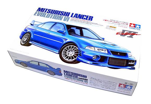 Tamiya Automotive Model 1/24 Car Mitsubishi Lancer EVOLUTION VI Hobby 24213