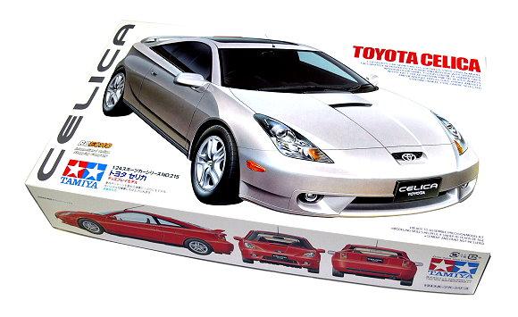 Tamiya Automotive Model 1/24 Car TOYOTA Celica No. 215 Scale Hobby 24215