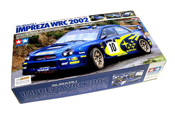Tamiya Automotive Model 1/24 Car SUBARU IMPREZA WRC 2002 Scale Hobby 24259