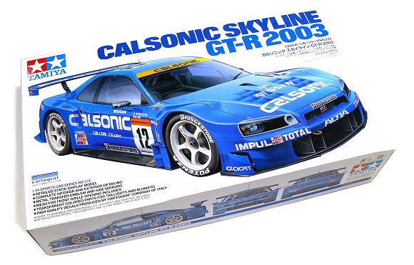 Tamiya Automotive Model 1/24 Car Calsonic Skyline GT-R 2003 Scale Hobby 24272