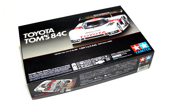 Tamiya Automotive Model 1/24 Car TOYOTA TOM S84C Scale Hobby 24289