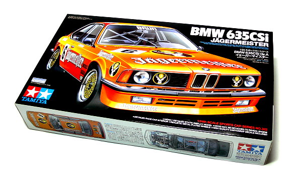 Tamiya Automotive Model 1/24 Car BMW 635CSi Jagermeister No 322 Hobby 24322