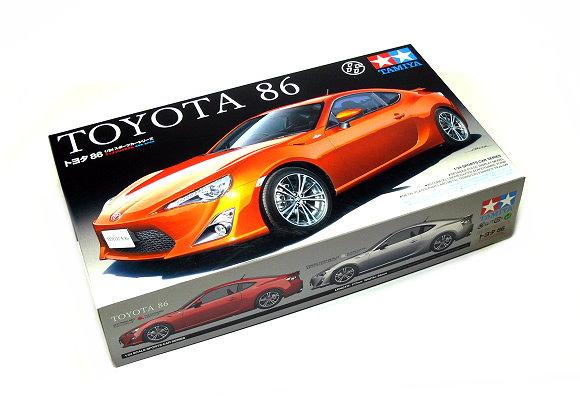 Tamiya Automotive Model 1/24 Car TOYOTA 86 Scale Hobby 24323