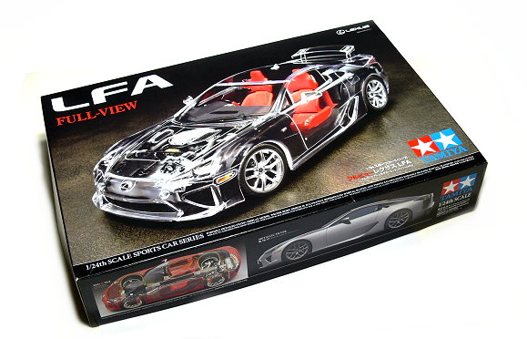 Tamiya Automotive Model 1/24 Car LEXUS LFA Scale Hobby 24325