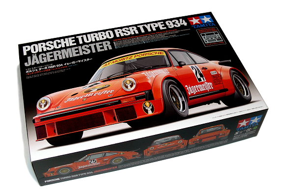Tamiya Automotive Model 1/24 PORDCHE TURBO RSR Type34 Jagermeister Scale 24328