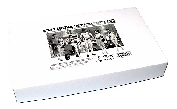 Tamiya Automotive Model 1/24 Campus Friends Figure Set Hobby 25164