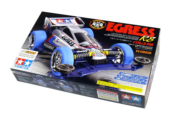 Tamiya Model Mini 4WD Racing Car 1/32 EGRESS RS (VS Chassis) Hobby 18063 AA046